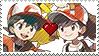 PC - PKMN Shipping Chase X Elaine Stamp by Aquamimi123