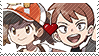 PKMN Game Shipping - Elaine X Trace Stamp by Aquamimi123