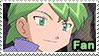Drew (Anime) - fan stamp by Aquamimi123