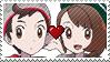 PC - PKMN Victor X Gloria Stamp