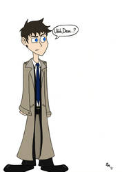 Castiel Confused Recolored by xiam47