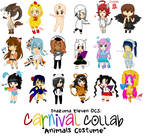 +InazumaOC+ Carnival Collab