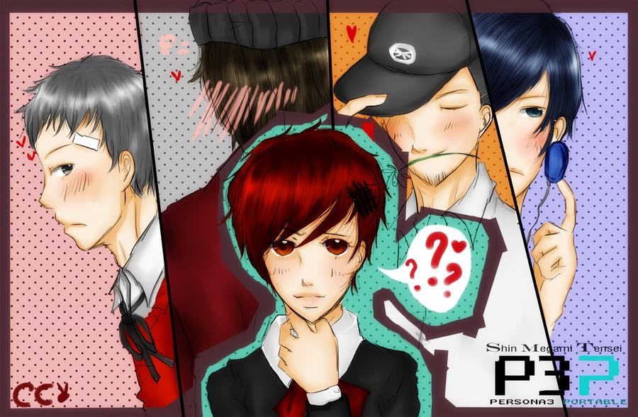 Dating persona 3 portable wallpaper 10