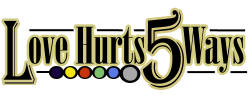 Love Hurts 5 Ways Logo by Aloubell