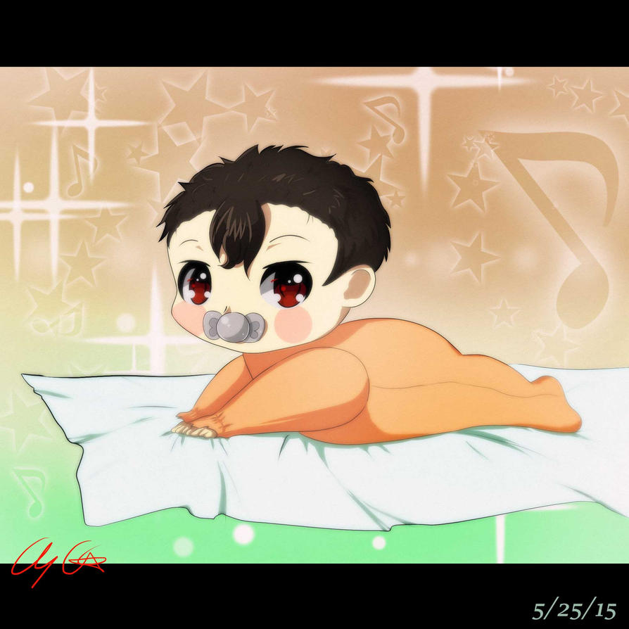 500 Watchers Special: Baby Akimoto by Lady--Nyx