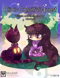 Clio's Colorful Quest Print by Aloubell
