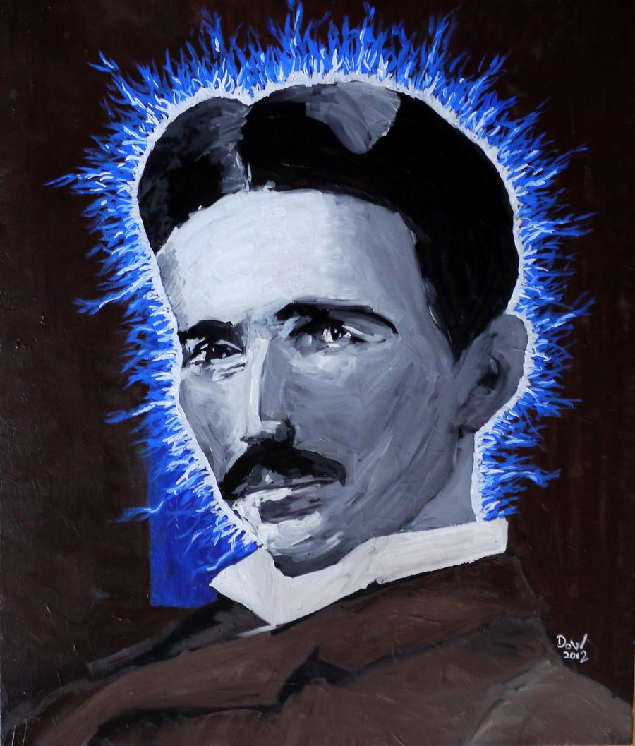 Nikola Tesla Wallpapers: Nikola Tesla By Bemonk On DeviantArt