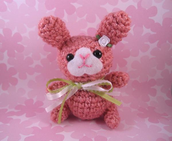 Amigurumi Spring Bunny by AmiTownCreatures
