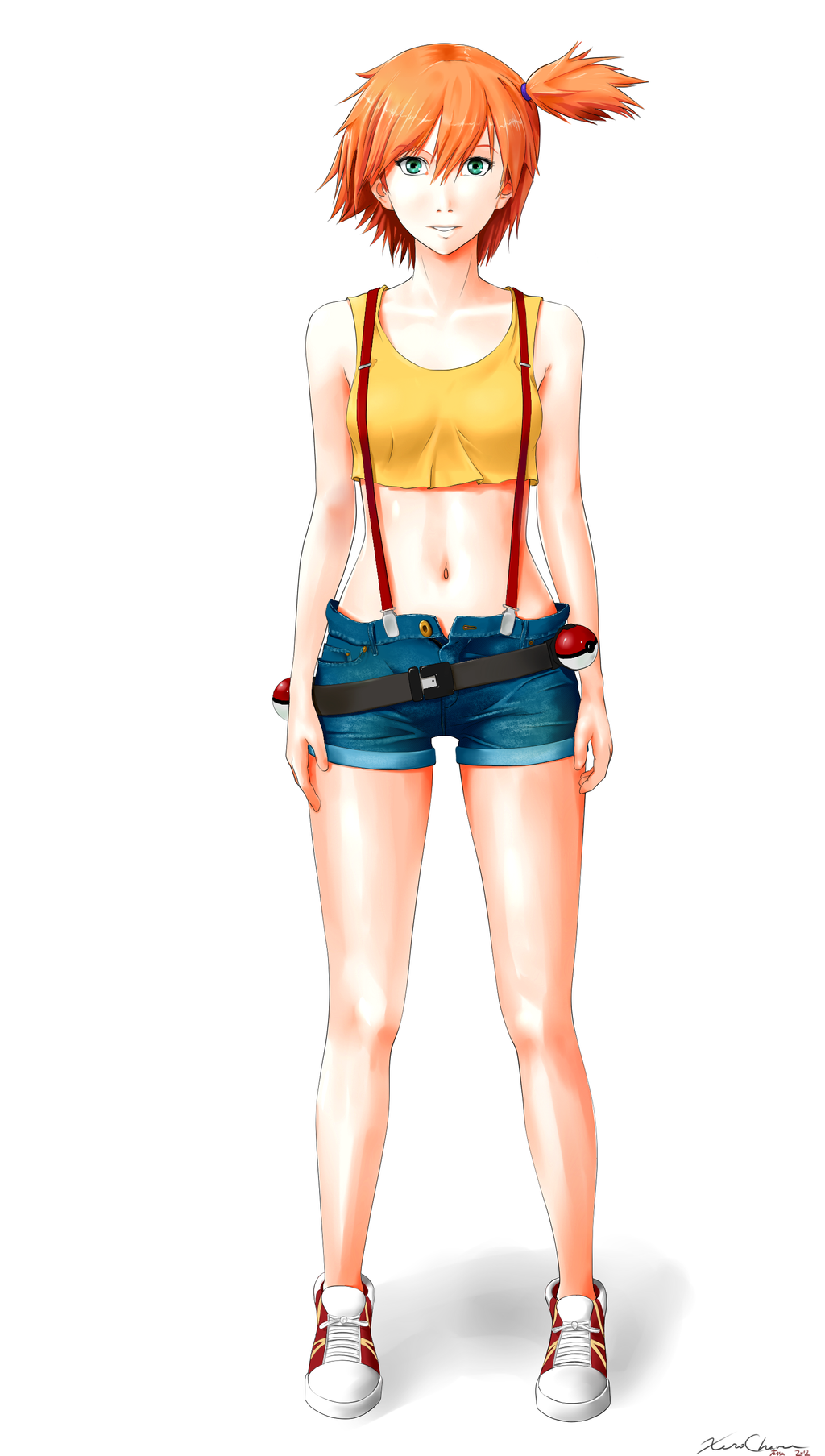 Misty Character Design by XeroChance