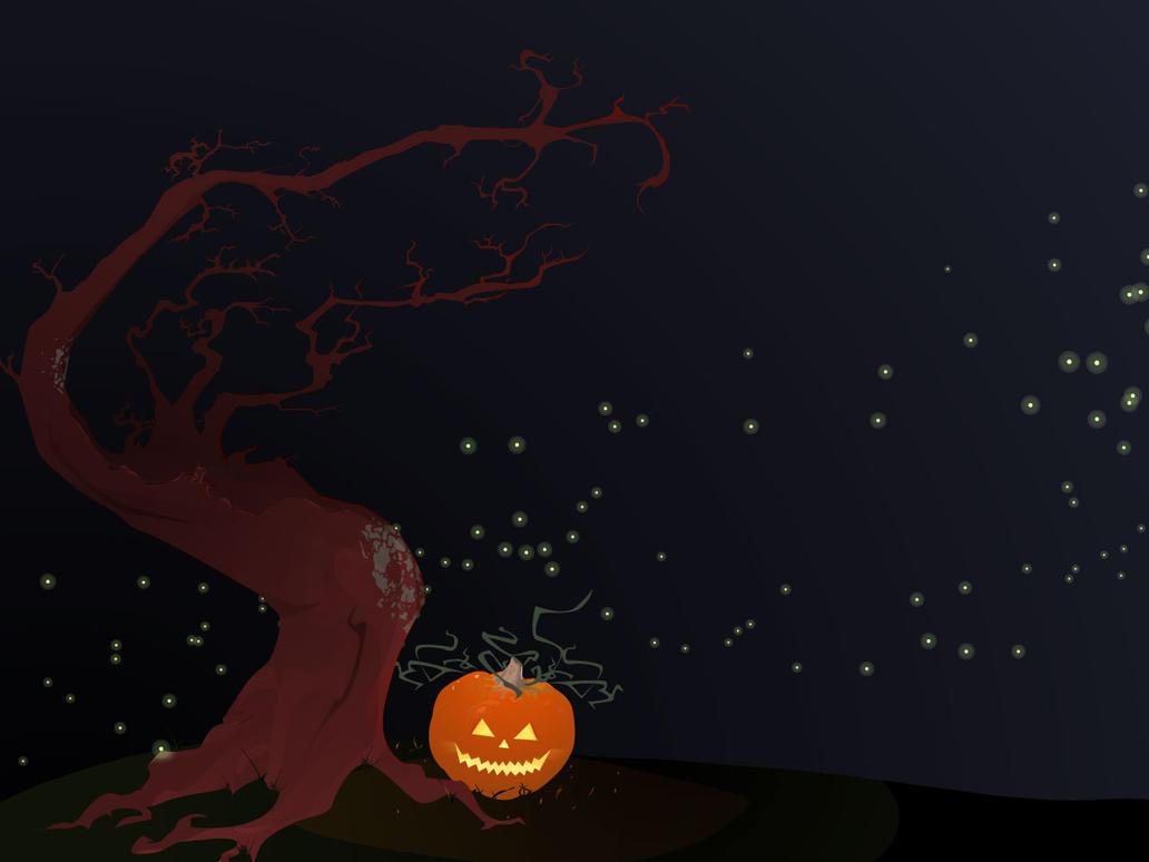 Halloween Wallpaper by iAmNerdgod