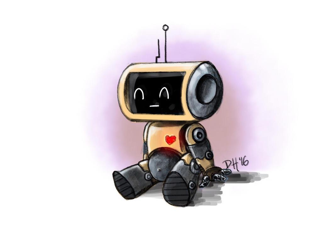 Lil Robot by iAmNerdgod