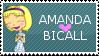 Amanda Bicall Stamp by TarnedAngel