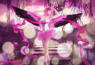 Flamingo by Kouzaku