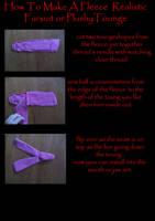 fursuit plushy toung tuitoral by ThoronWild