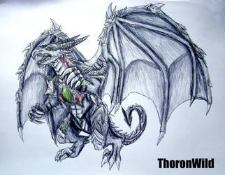 Thoron Wild Dragon form by ThoronWild