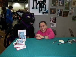 Me And Warwick Davis by ThoronWild