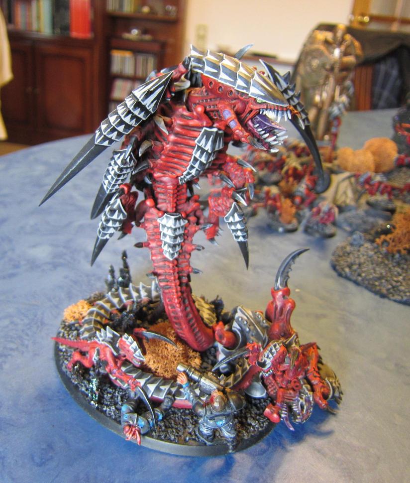 Hive Fleet Caribdis Trigon by Monty-kun