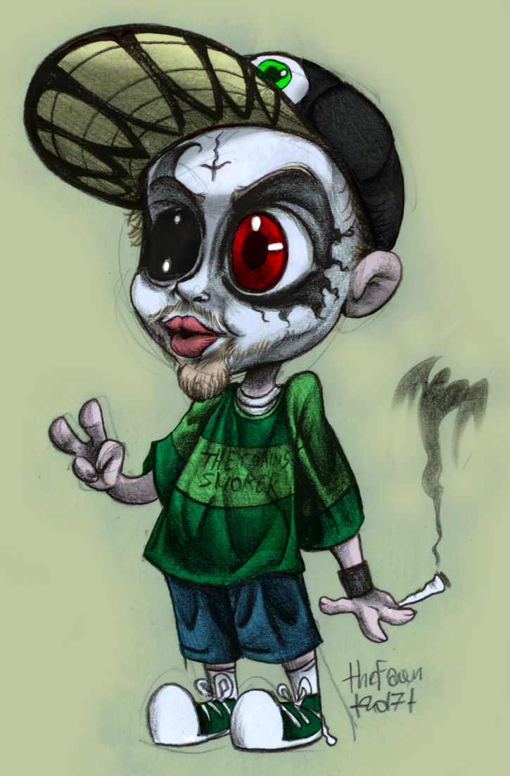 Monoxide Child (chibi) by TheFawnFlying