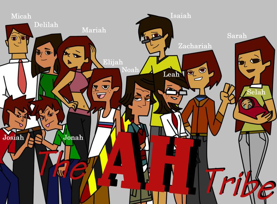 The AH Tribe by Kiku-No-Hoshi-XD