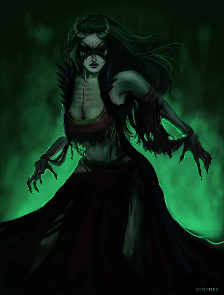 wow undead warlock by zynthex on deviantart