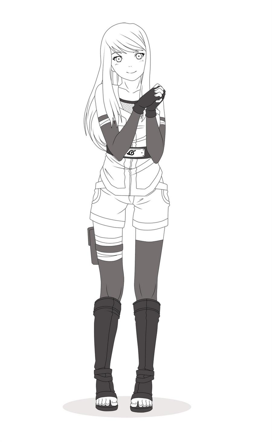 Anime Characters Full Body : Natsuki manga fullbody by kleenesoph on deviantart