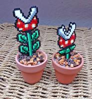 Piranha Pot Plants by Echilon