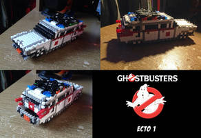 GhostBusters Ecto 1 Bead Sprite Mobile by Echilon