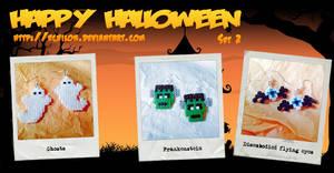 Halloween Earrings #2 by Echilon