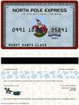 Robot Santa Claus's Credit Card