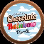 Chocolate Rainbow Biscotti