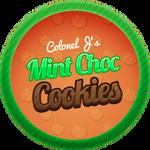 Mint Choc Chip Cookies