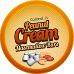 Peanut Cream Marshmallow Bars