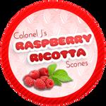 Raspberry Ricotta Scones