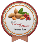 Cranberry and Almond Caramel Tart