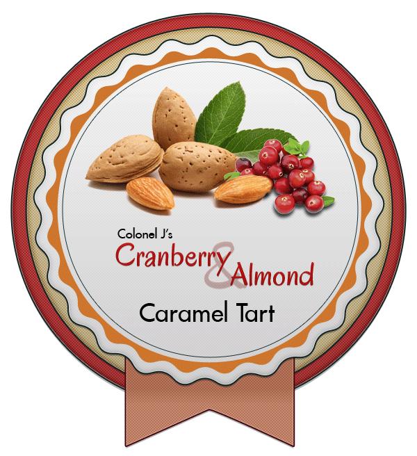 Cranberry and Almond Caramel Tart by Echilon on DeviantArt