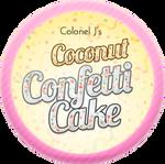 Coconut Confetti Cake