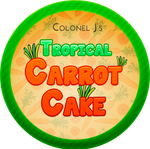 Tropical Carrot Cake with Ginger