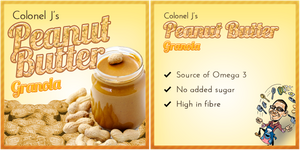 Peanut Butter Granola by Echilon