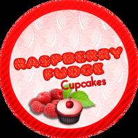 Raspberry Fudge Cupcakes by Echilon