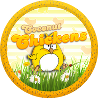 Easter Coconut Chickens by Echilon