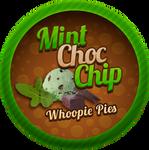 Mint Choc Whoopie Pies