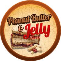 Peanut Butter Jelly Slices by Echilon