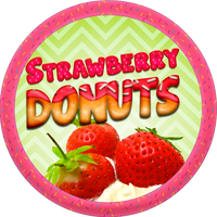 Strawberry Donuts by Echilon