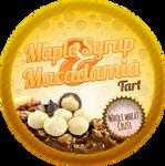 Maple Syrup and Macadamia Tarts