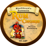 Rum Cupcakes (Talk like a pirate day)