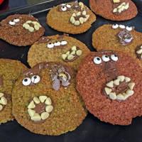 Halloween Monster Cookies by Echilon