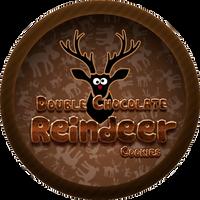 Chocolate Reindeer Cookies by Echilon