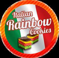 Italian Rainbow Cookies by Echilon