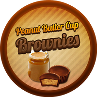 Peanut Butter Cup Brownies by Echilon