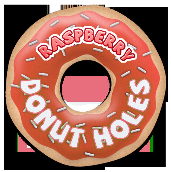 Raspberry Donut Holes by Echilon